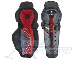 CCM Quicklite QLT Pro Ice Hockey Shin Guards - Junior