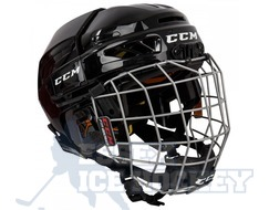 CCM Fitlite 3DS Hockey Helmet Combo - Youth