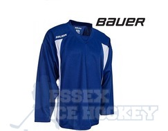 Bauer 600 Premium Training Jersey Senior Blue