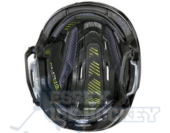 Warrior Alpha One Pro Helmet Combo Senior Black