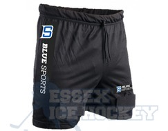 Blue Sports Junior Mesh Jock Shorts with Cup