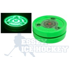 Green Biscuit Alien Hockey Training Puck