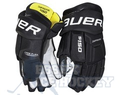 Bauer Supreme S150 Ice Hockey Gloves Black - Senior