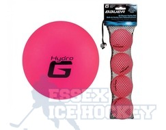 Bauer Hydro G Hockey Ball  Pink - Cold Weather