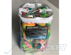 Bauer Multi Coloured Hockey Ball 12 Pack