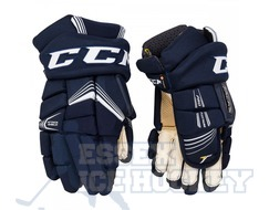 CCM Super Tacks Ice Hockey Gloves Navy - Senior