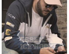 CCM Historical Full Zip Hoodie French Navy