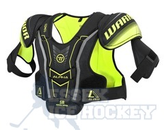 Warrior Alpha QX4 Shoulder Pads Junior