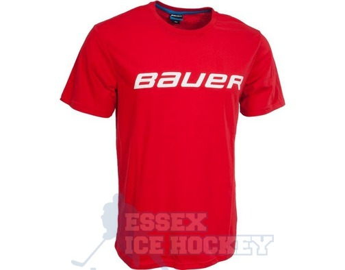Bauer Core SS Red T-Shirt