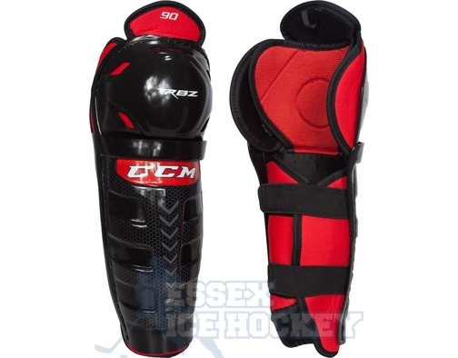 CCM RBZ 90 Ice Hockey Shin Guards - Junior