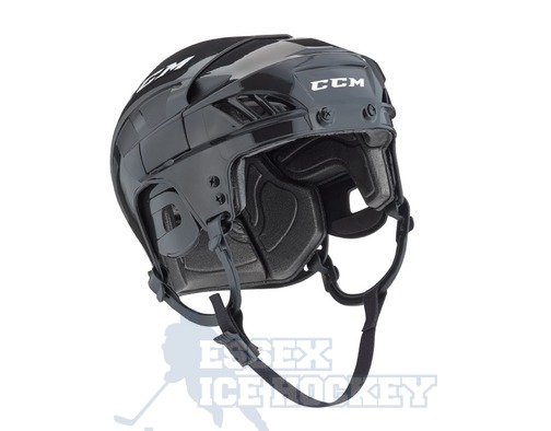 CCM Fitlite 40 Ice Hockey Helmet Black - Senior