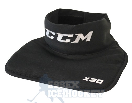 CCM X30 Ice Hockey Neck Guard Black