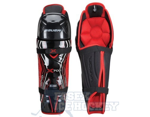 Bauer Vapor X700 Ice Hockey Shin Guards - Junior