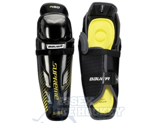 Bauer Supreme S150 Ice Hockey Shin Guards - Junior