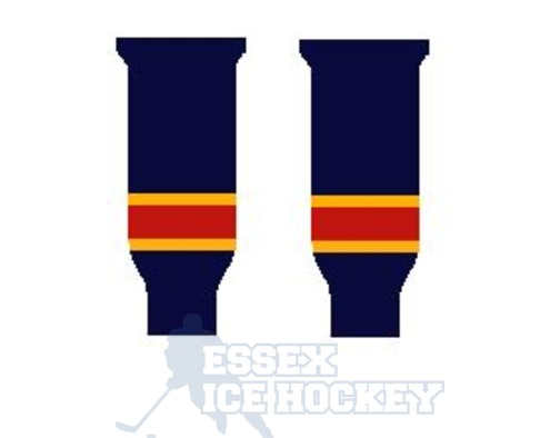 Hockey Socks Knitted Junior Florida Navy