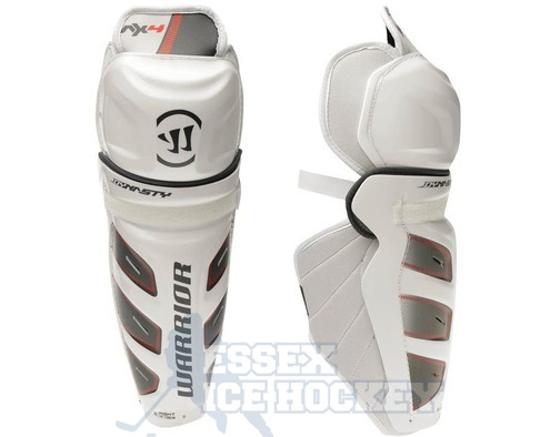 Warrior Dynasty AX4 Ice Hockey Shin Guards - Senior