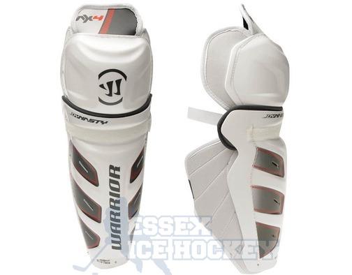 Warrior Dynasty AX4 Ice Hockey Shin Guards - Senior