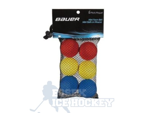Bauer Mini Foam Ball 6 Pack