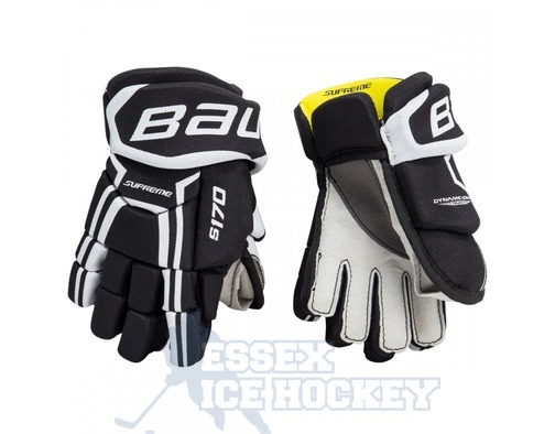 Bauer Supreme S170 Ice Hockey Gloves Black - Youth