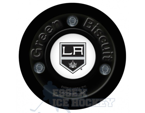 Green Biscuit  LA Kings Hockey Training Puck