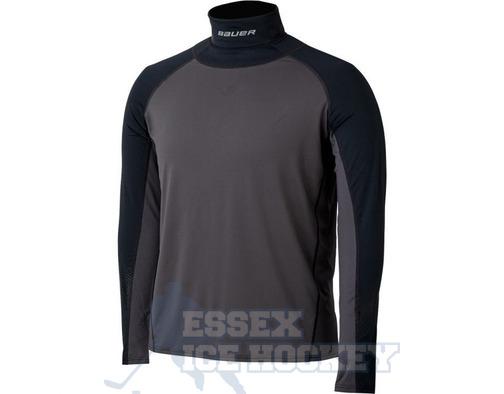 Bauer NG Neck Protector Long Sleeve Shirt Junior