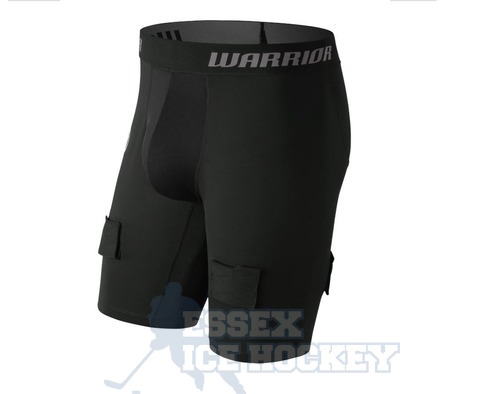 Warrior  Junior Compression Shorts with Cup