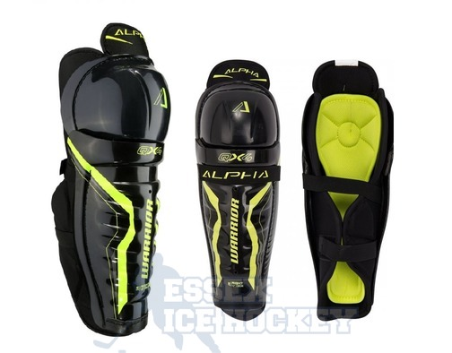 Warrior Alpha QX4 Shin Guards Junior