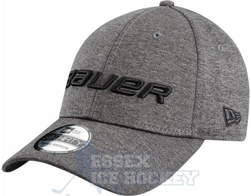 Bauer New Era 39Thirty Shadow Tech Cap - Grey