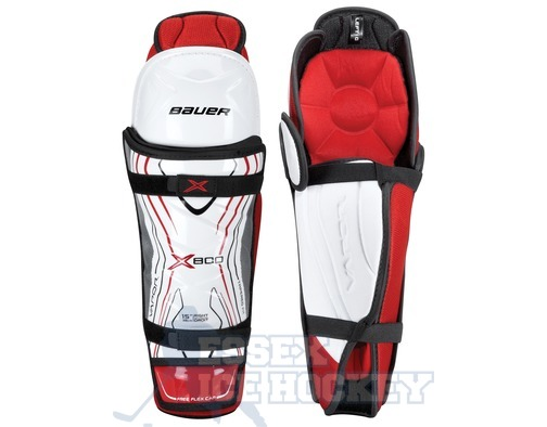 Bauer Vapor X800 Shin Guards - Senior