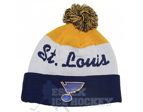 NHL Script Cuffed Pom Hat St. Louis