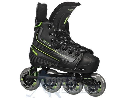 Tour Code 9 Inline Hockey Adjustable Skates