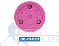 Green Biscuit Blush Hockey Training Puck
