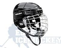 Bauer IMS 5.0 Ice Hockey Helmet Combo Black