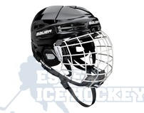 Bauer IMS 5.0 Ice Hockey Helmet Combo Black