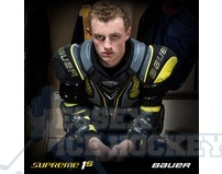 Bauer Supreme 1S Ice Hockey Shoulder Pads - Senior