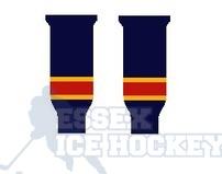 Hockey Socks Knitted Junior Florida Navy