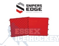 CCM Snipers Edge Slick Red Line Tiles