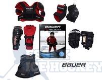 Bauer Vapor XVelocity Ice Hockey Starter Kit - Youth