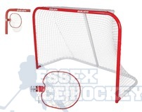 "Bauer Official 72"" Performance Steel Goal with Target"