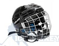 Bauer Prodigy Ice Hockey Helmet Combo - Youth