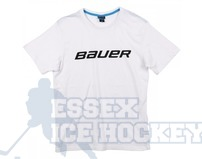 Bauer Core SS White T-Shirt