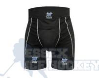 Blue Sports Compression Jock Shorts - Junior