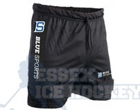 Blue Sports Senior Mesh Jock Shorts with Cup