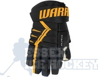Warrior Alpha DX4 Senior Black & Gold Ice Hockey Gloves