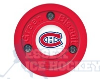Green Biscuit Montreal Canadiens Hockey Training Puck