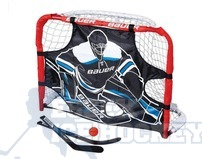 Bauer Pro Knee Hockey Goal with Goalie