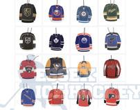 NHL Air Freshener  Team Jersey