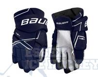 Bauer NSX Senior Hockey Gloves Navy
