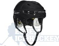 Bauer Re-Akt Hockey Helmet Black