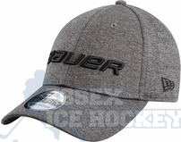 Bauer New Era 39Thirty Shadow Tech Cap - Grey